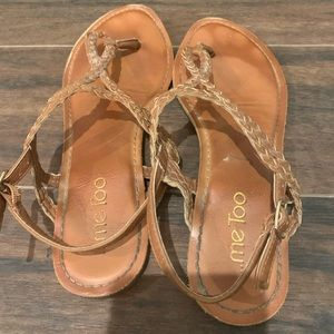 ...Me Too sandals- size 7